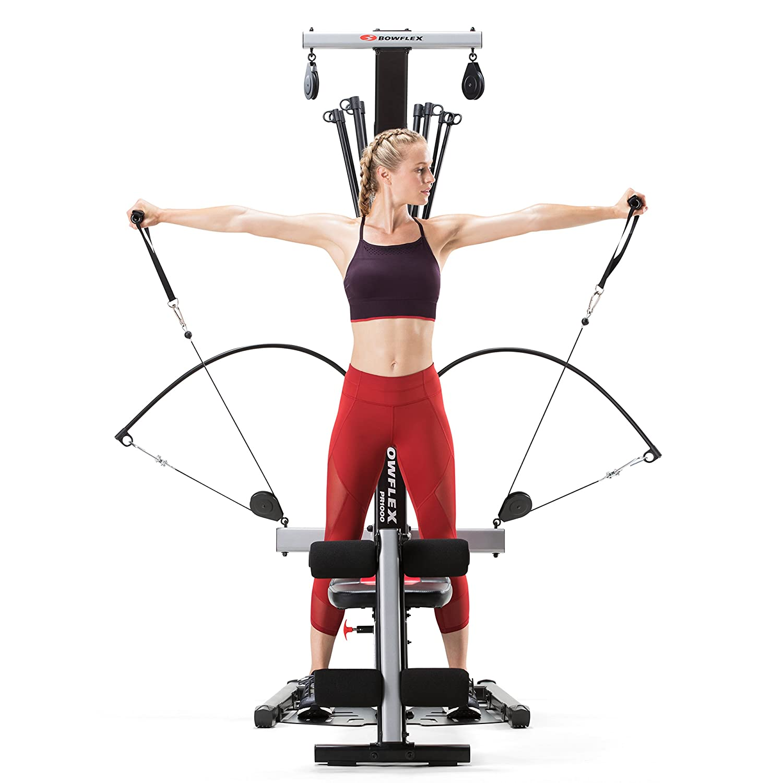 Home Gym Leg Workout: Bowflex Pr1000 Leg Workout