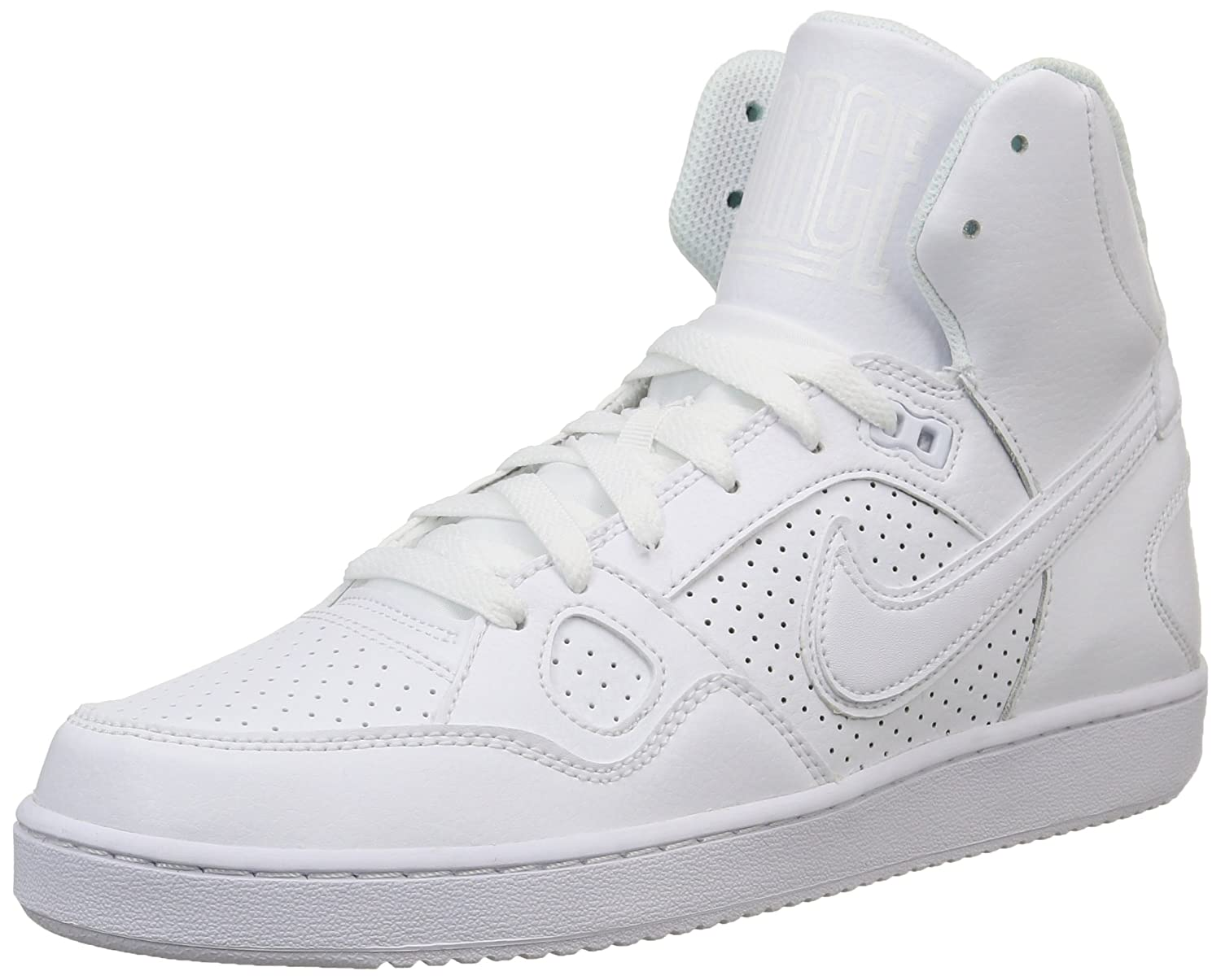Nike Son Of Force Mid White Mens Trainers 8 UK: Amazon.co.uk