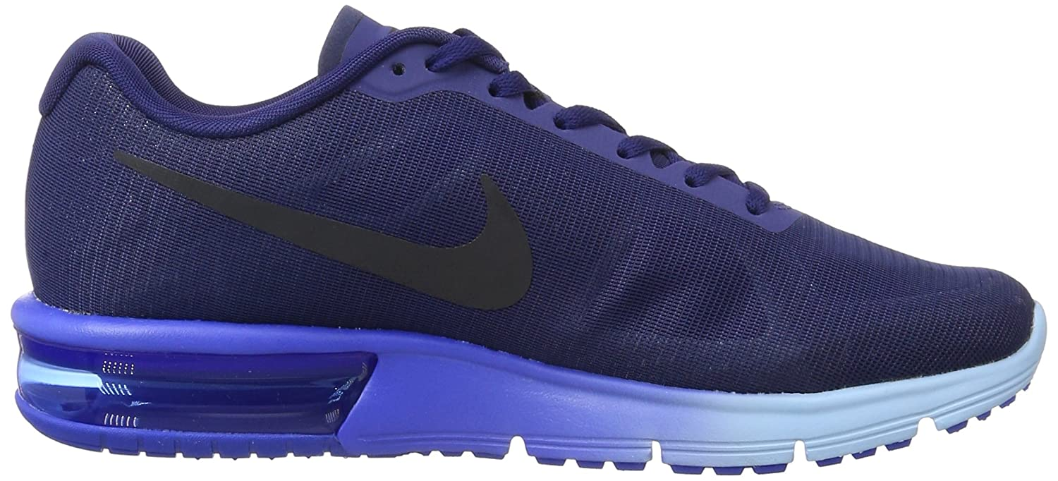 Nike Men's Air Max Sequent Running Shoe Loyal BlueDark ObsidianHyper Cobalt Size 8 M US