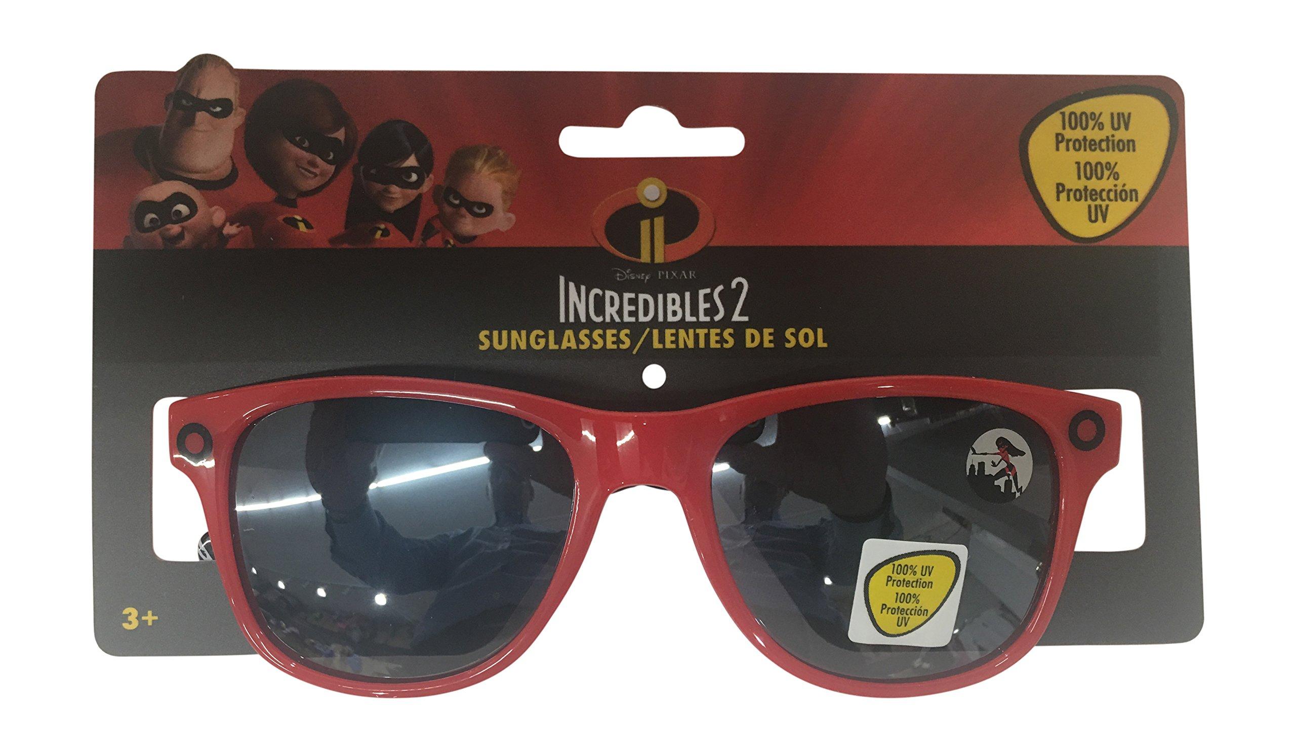 Pan Oceanic Disney The Incredibles 2 Boys Sunglasses - 100% UVA & UVB Protection