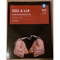 GDL & LLB: Cases and materials on criminal law