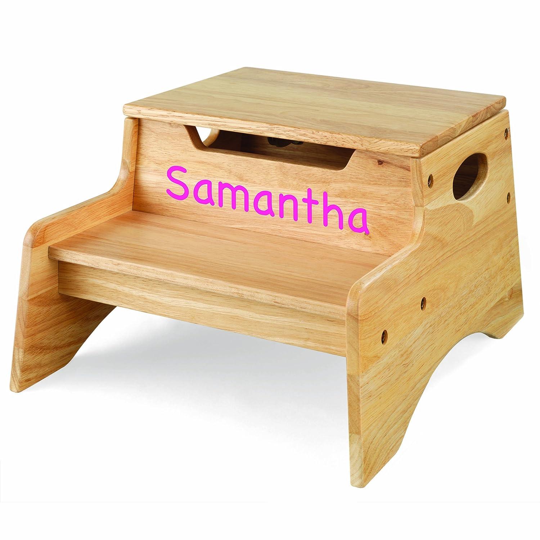 KidKraft PersonalizedステップNストアNatural withピンクマーカー B0049B2Q0I Samantha Samantha