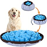 PET ARENA Adjustable Snuffle mat for Dogs, Dog Puzzle Toys, Enrichment Pet Foraging mat for Smell Training and Slow Eating, S