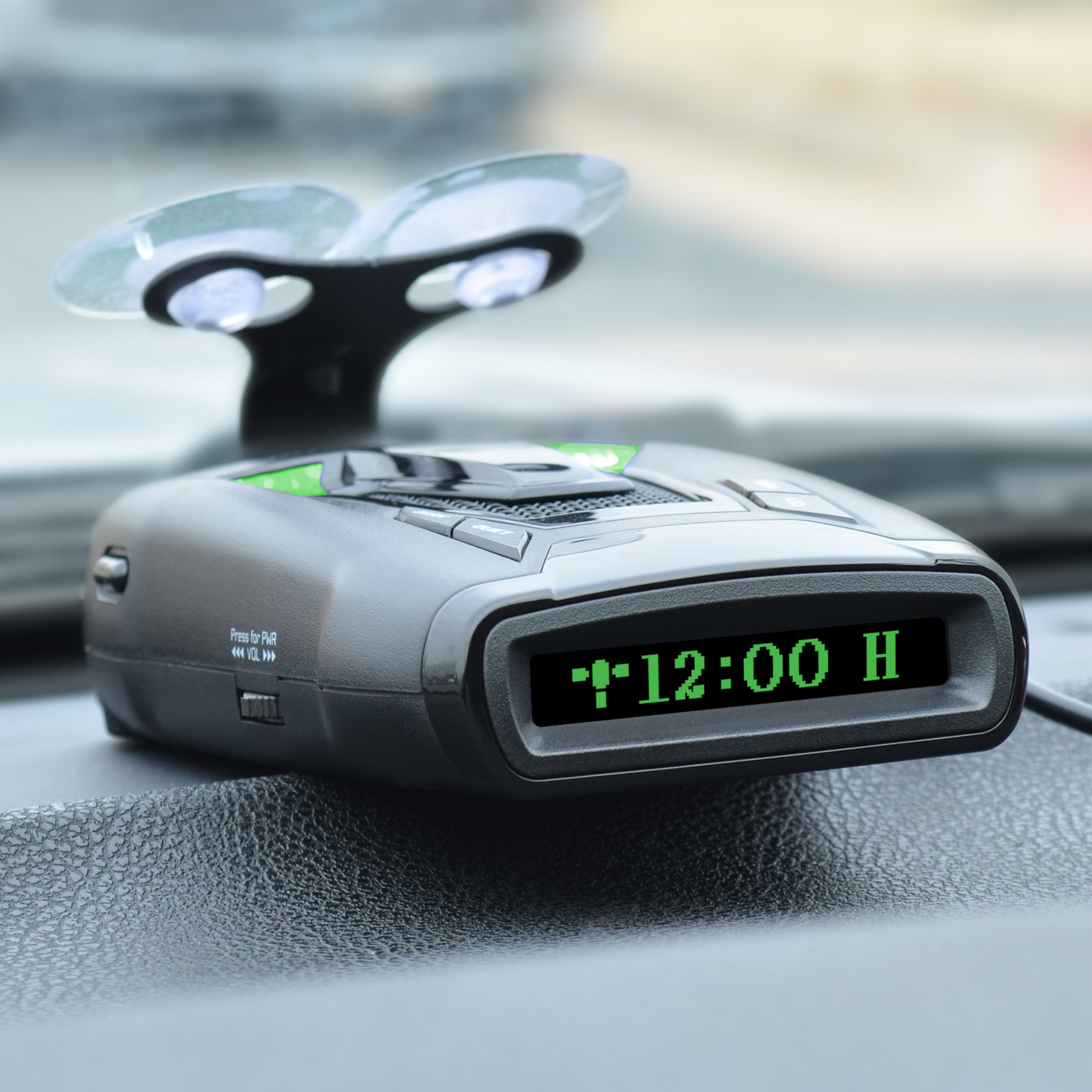 Whistler CR90 High Performance Laser Radar Detector: 360 Degree Protection, Voice Alerts, and Internal GPS by Whistler (Image #4)