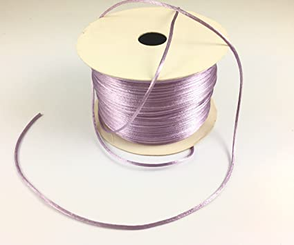 70 Yards 1.5mm Lilac Trimplace Petite Satin Cord Rattail Chines Knot