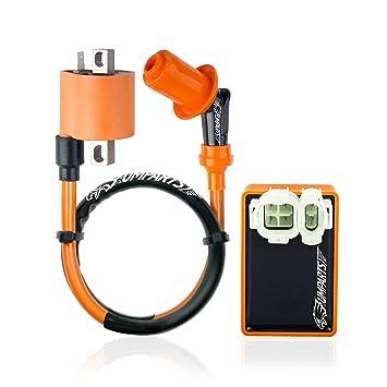umparts Universal caliente fuego alto rendimiento bobina de encendido Bujía CDI de CA A7TC para motores ...