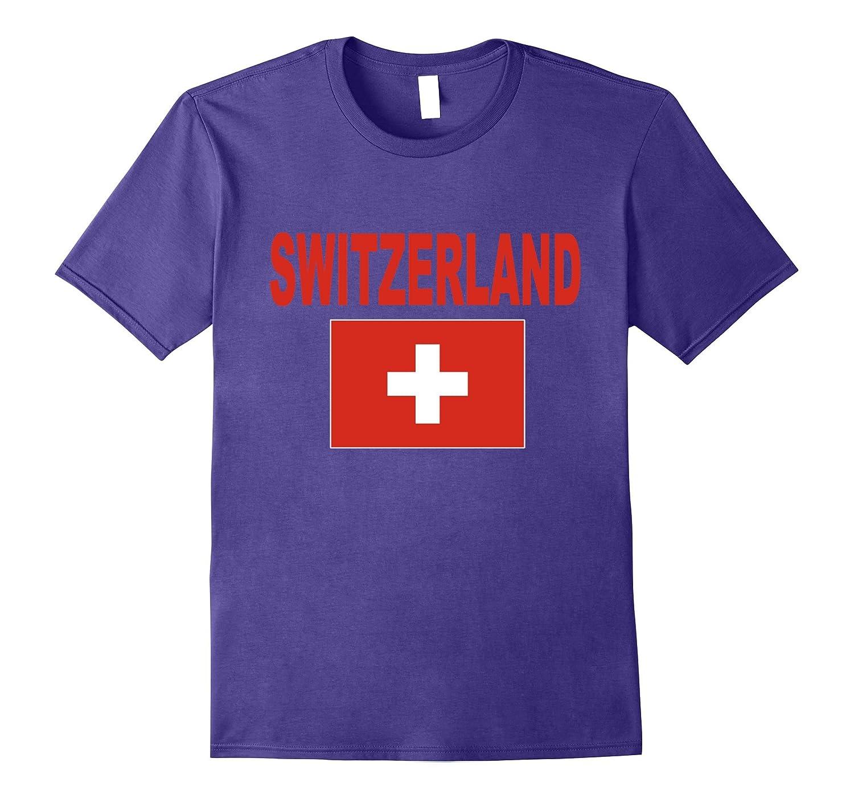 Switzerland T-Shirt Swiss Flag Shirt Unisex Fashion Top Tee-TH