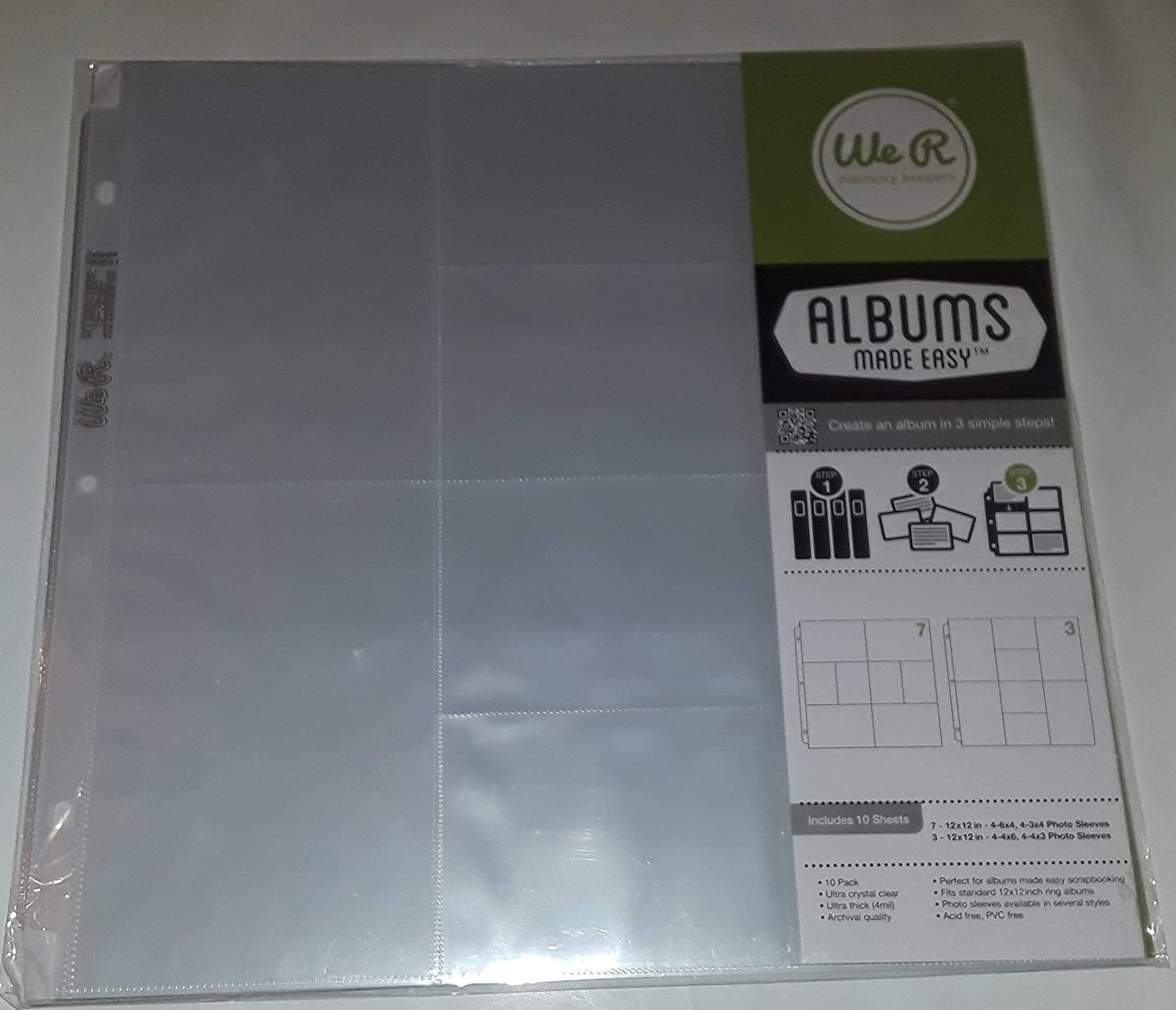 "School Years Memory Keeper Scrapbook Keepsake Album 12"" x 10"" FREESHIP"