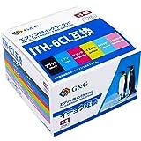 【ネット限定】 G&G インクカートリッジ <EPSON(エプソン) ITH-6CL互換 イチョウ 6色セット ICチップ付残量検知対応> EITH-6P 互換インクカートリッジ [EP-710A/EP-810AB/EP-810AW/EP-709A/EP-711A/EP-811AB/EP-811AW対応]【国際規格ISO9001品質】