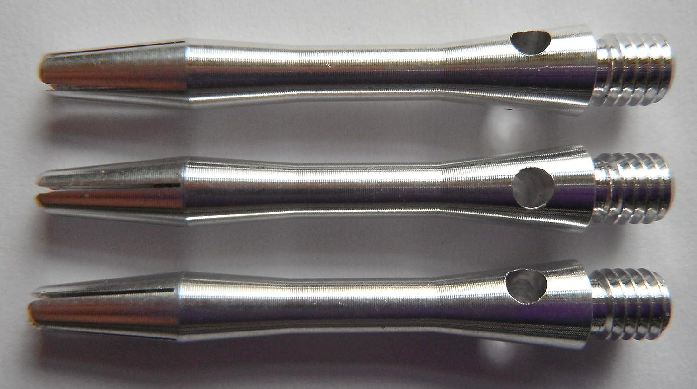 3 per set 2in 2ba Silver Aluminum Dart Shafts