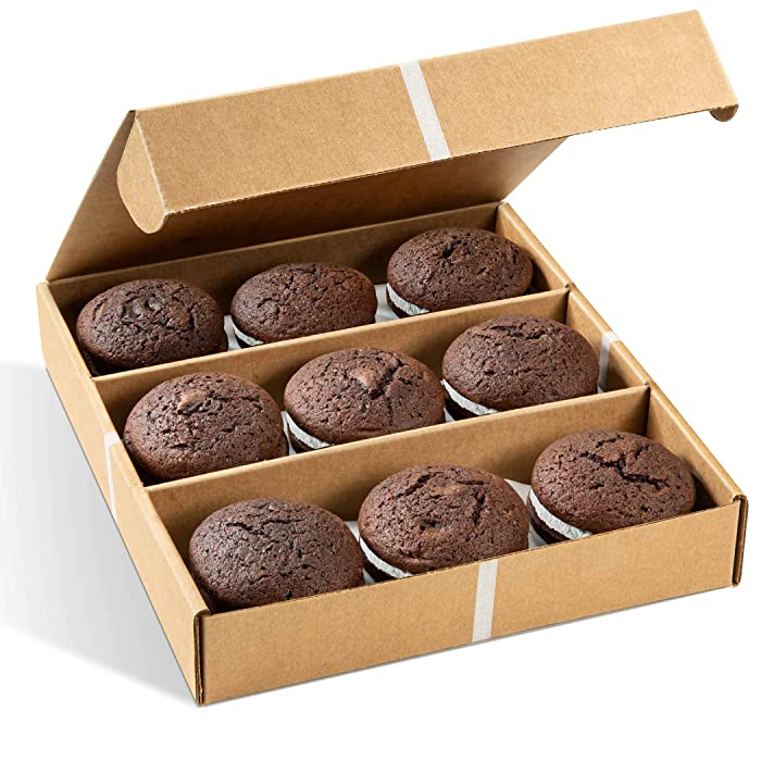 Gourmet Cookie Gifts | Holiday Gift Box | 9 Individually Wrapped Whoopi Pies | Trendy Food Gift | Prime Delivery | Thanksgiving, Christmas, Valentines & New Years | Stern's Bakery