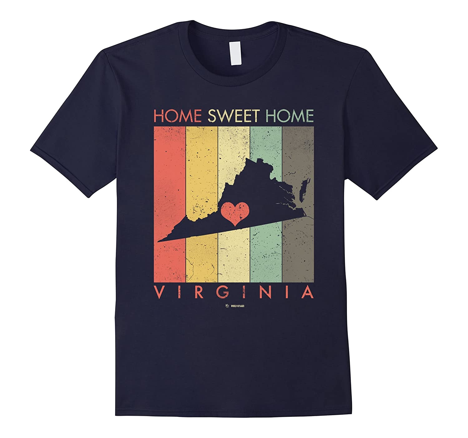 Retro Vintage Virginia State TShirt-TH