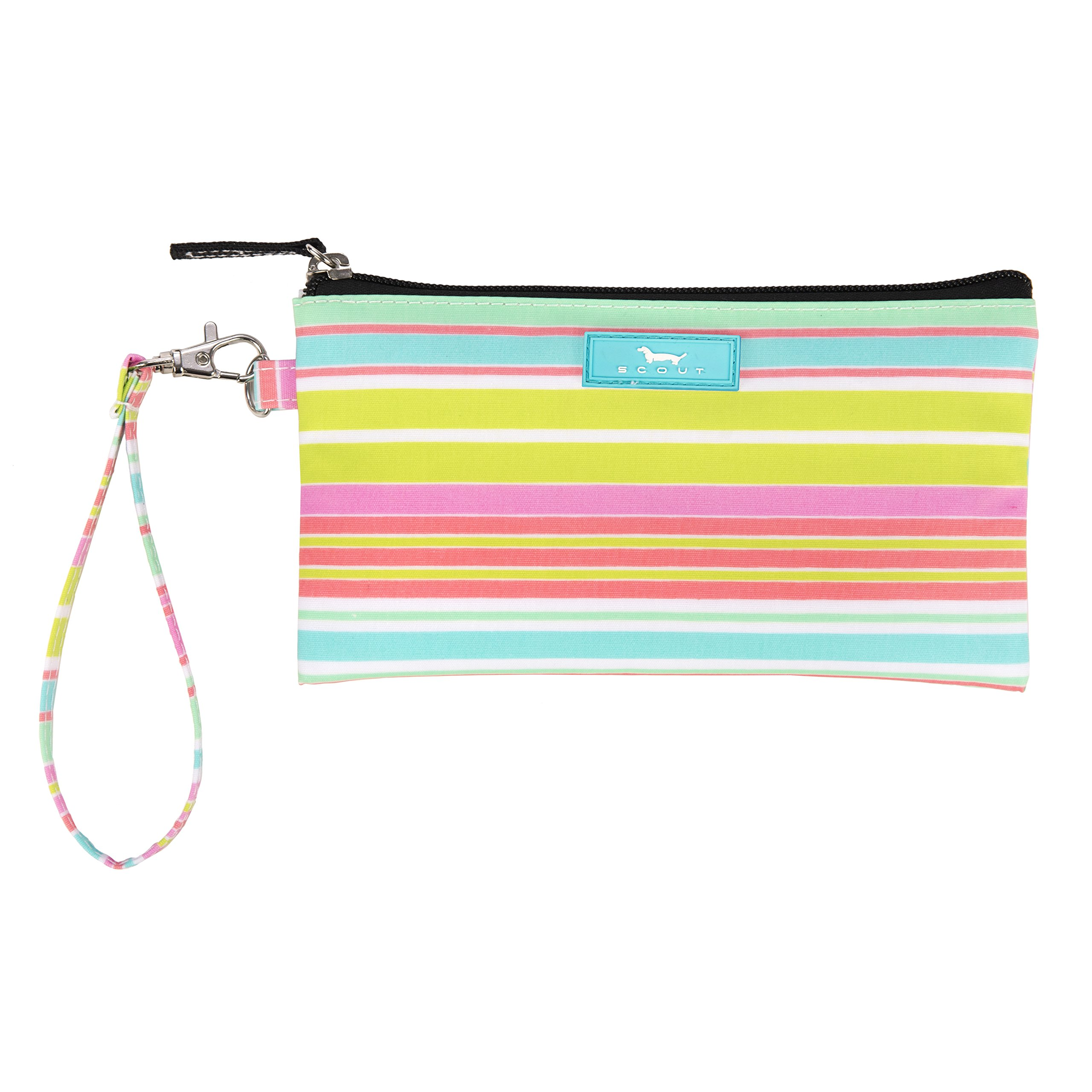 SCOUT Kate Wristlet, Essential Lightweight Clutch, Fits iPhone 6-8, Removable Strap, Water Resistant, Zips Closed, Sol Surfer