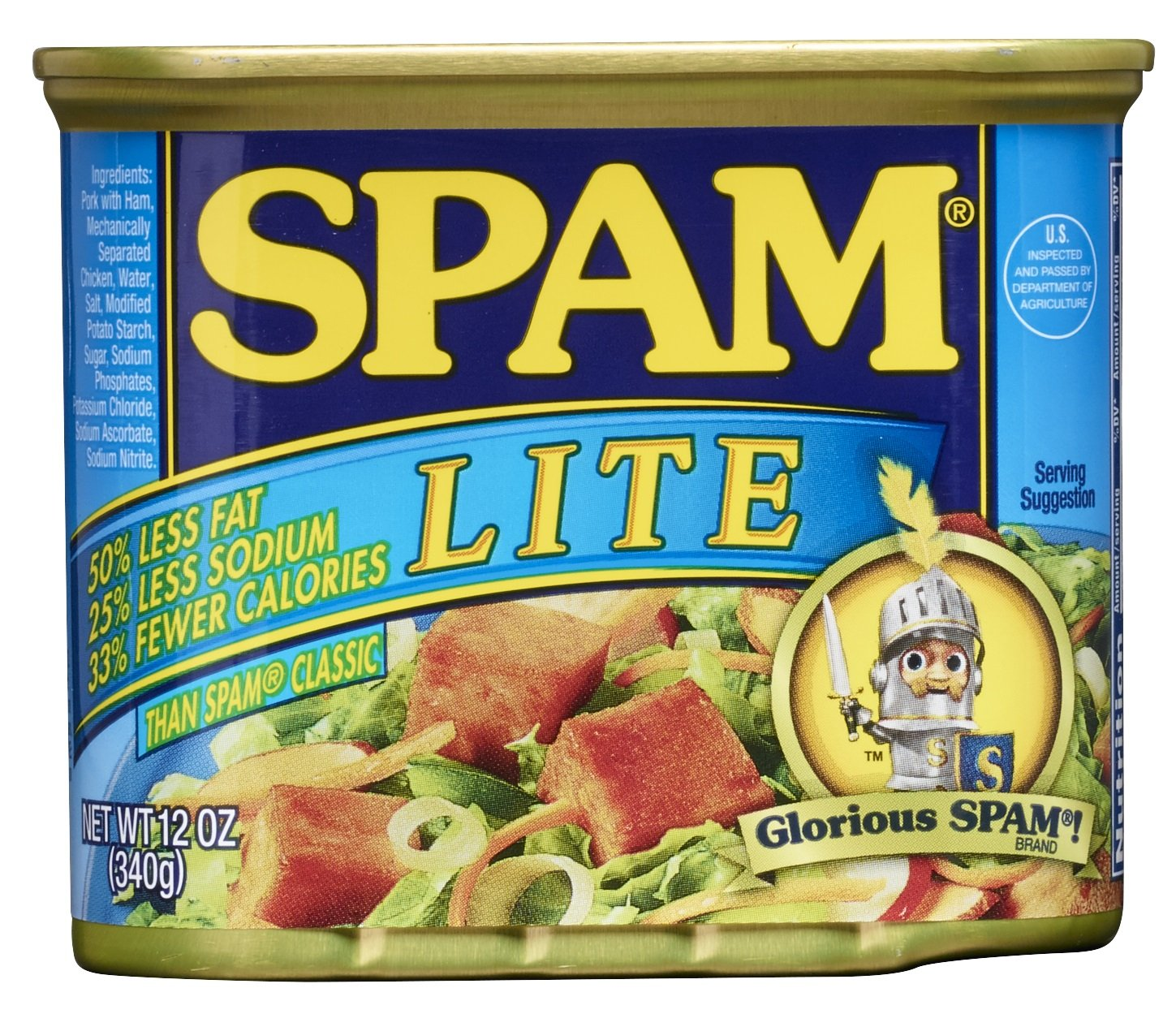 SPAM Lite, 12-Ounce Cans (Pack of 6)