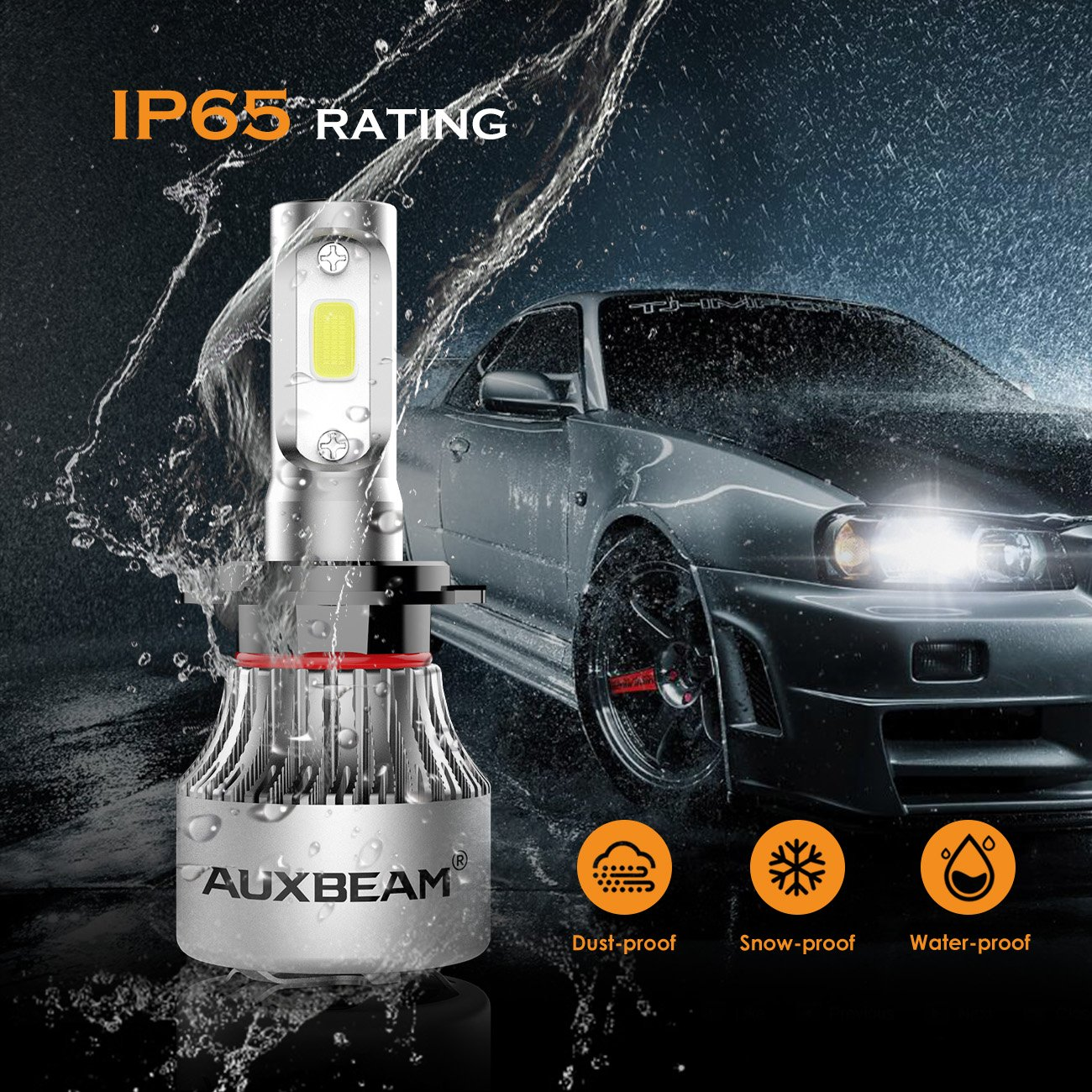 Auxbeam H7 Led Headlight Canbus Anti Flicker Error Free Computer Warning Canceller Relay Resistor Wiring Harness Adapter