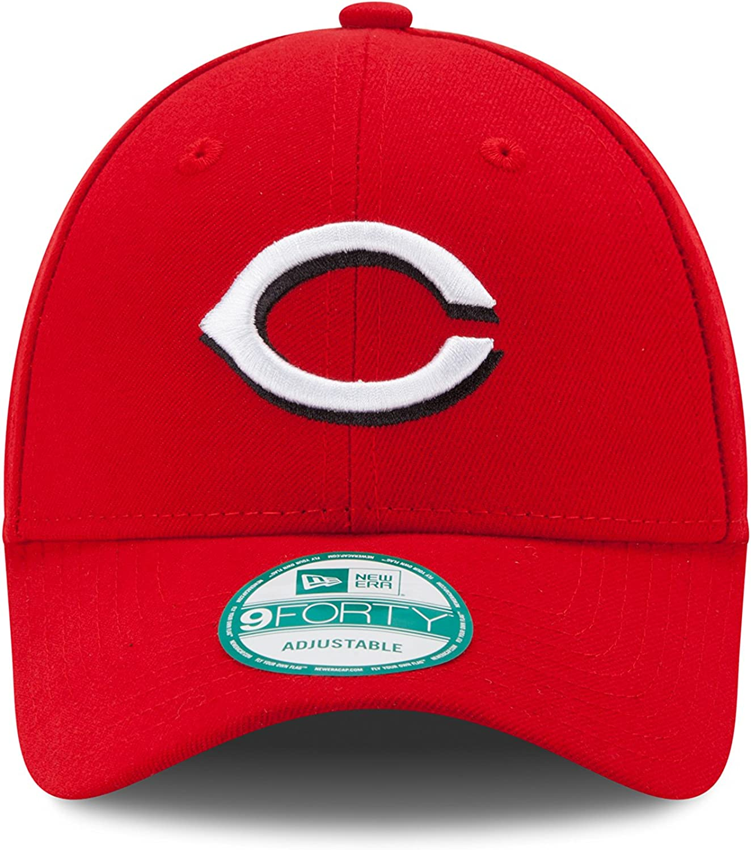 New Era The League Cincinnati Reds Hm Gorra, Hombre, Rojo (Bright ...