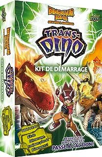 dino king dktd01 jeu de cartes jouer et collectionner starter trans
