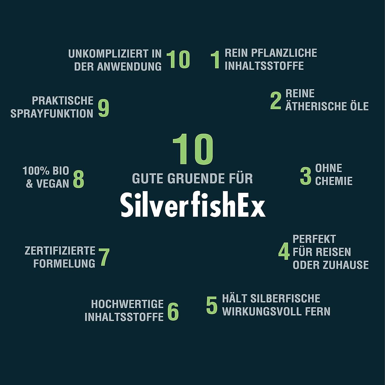 Silberfische Spray Silverfishex Bio Mittel Gegen Silberfische