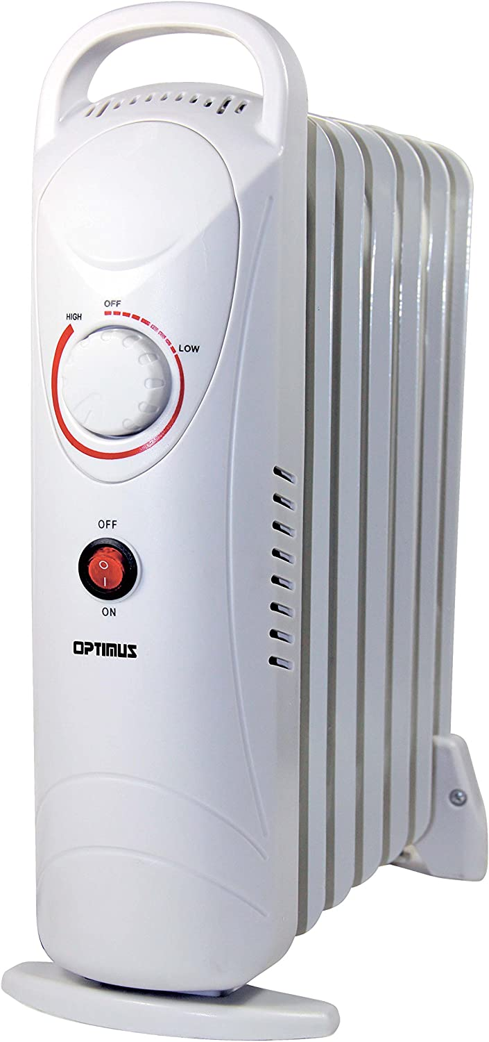 Optimus H-6003 Portable Oil Filled Radiator Heater, Mini