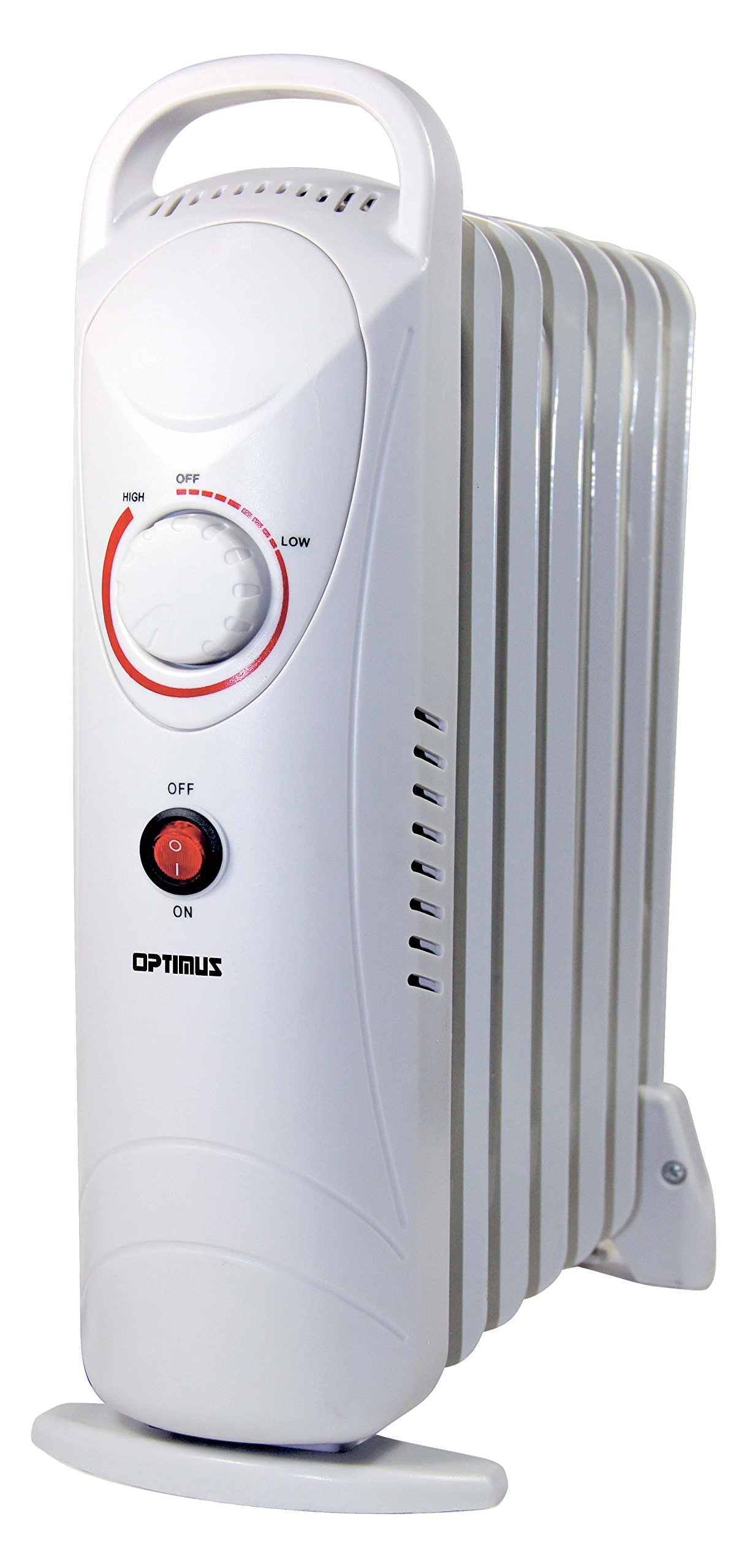 Optimus H-6003 Portable Oil Filled Radiator Heater, Mini, 16 x 6 x 15 inches by Optimus