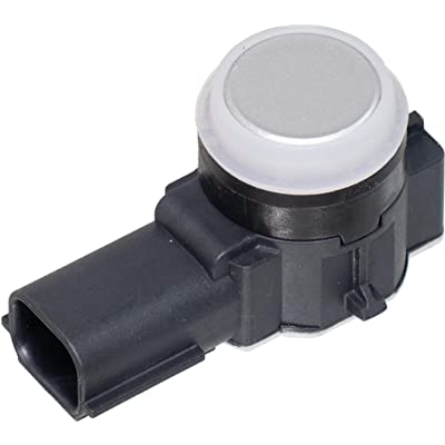 APDTY 795159-Silver Painted Parking Aid Assist Backup Reverse PDC Sensor Fits All Positions In Front or Rear Bumper On Select 2014-2020 GM Vehicles (See Description; Replaces 23428268, 52050134): Automotive