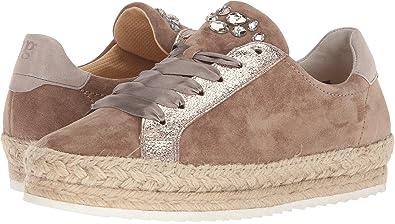 559894e9610a Paul Green Women's Randy Sneaker Antelope Gold Combo 7.5 ...