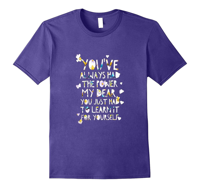 You've Always Had the Power My Dear t-shirt-FL