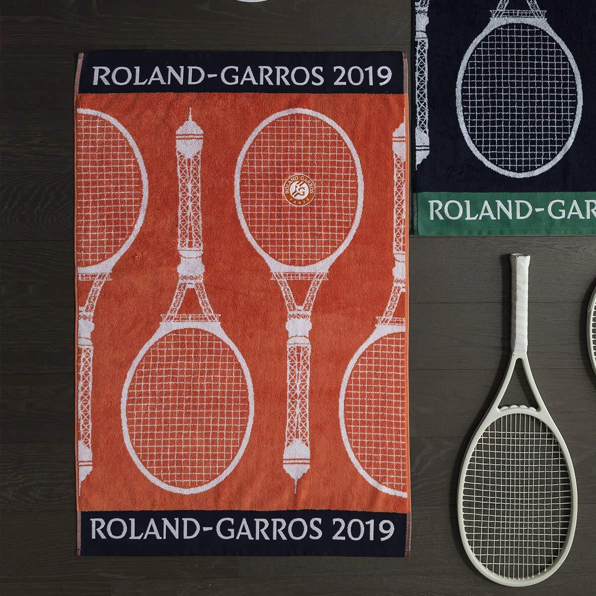 Toalla jugadora Roland Garros 2019 - Tierra Ladrillo, Terre Battue, Talla única: Amazon.es: Hogar