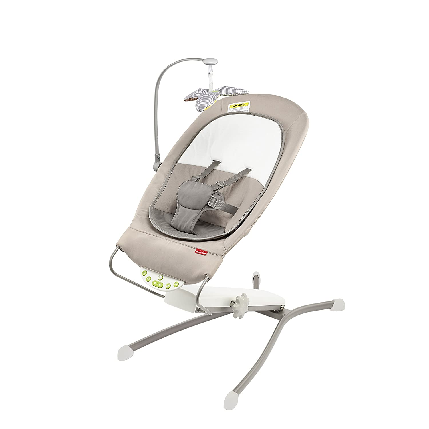 Skip Hop Uplift Multi-Level Adjustable Bouncer, Grey 304001-CNSZP