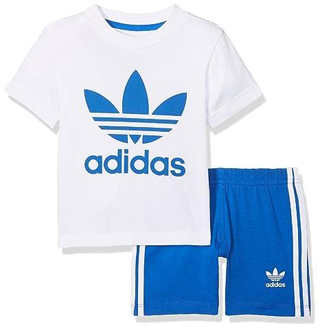 Adidas Tee I MagliettaBambinoBiancobiancoblu Short Set tQCshrd