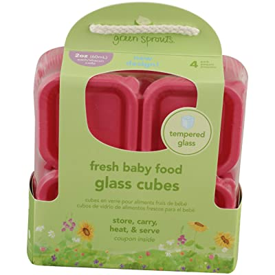 Green Sprouts, Container Glass Baby Fresh Food : Baby