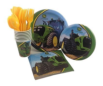 Amazon.com: John Deere Birthday Party Supply Pack! Bundle Includes ...