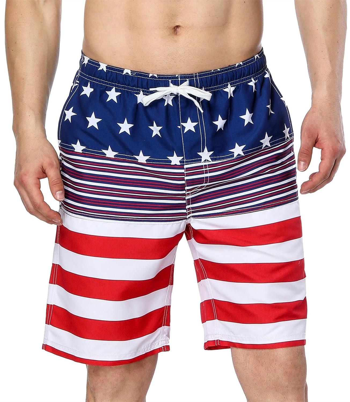 American Flag 1 Attraco Womens 2PC Printed Tankini Swimsuit
