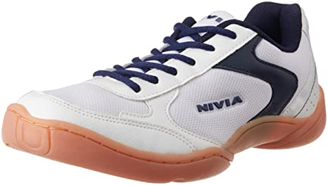 bd98d9c5cede3a Nivia Badminton Flash Shoes  Amazon.in  Sports