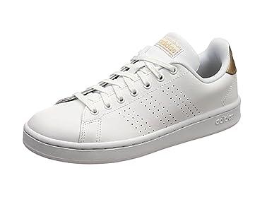 adidas Damen Advantage Fitnessschuhe weiß