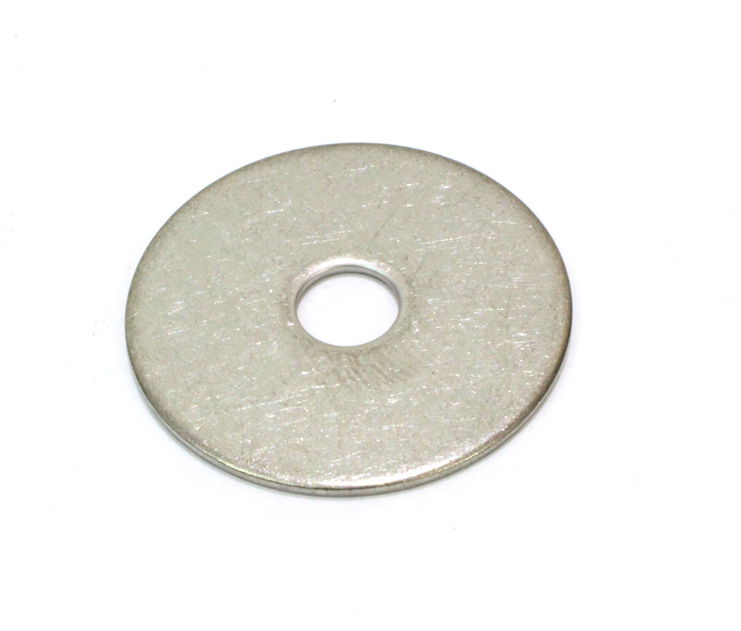 1/4'' x 1'' OD Stainless Fender Washer, (100 Pack) - Choose Size, By Bolt Dropper, 18-8 (304) Stainless Steel.