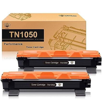 CMYBabee 2-Paquete Reemplazo para Brother TN 1050 TN-1050 Cartucho ...