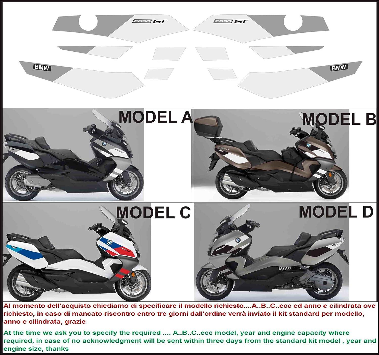 Emanuel Co Kit Adesivi Decal Stickers Compatibili C650 Gt Special Edition Geben Sie Model A Oder B Oder C Oder D Amazon De Auto