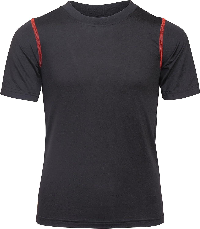 Black Bear Boys Performance Dry-Fit T-Shirts 4 Pack