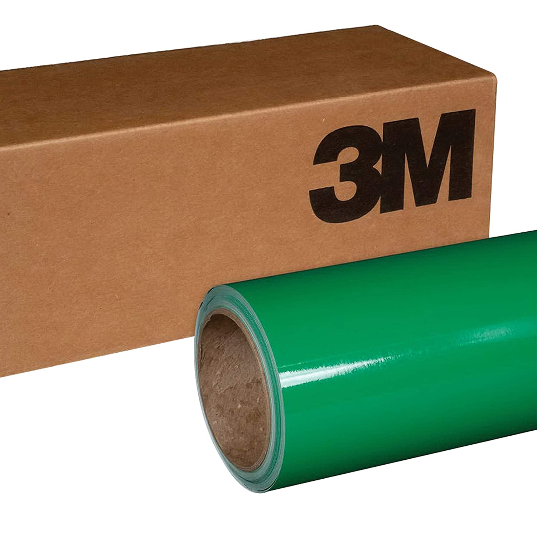 3M 1080 G46 GLOSS KELLY GREEN 5ft x 1ft (5 Sq/ft) Car Wrap Vinyl Film