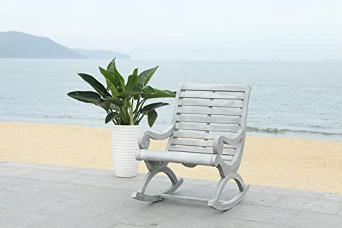 Reviewed: Safavieh PAT7016A Outdoor Collection Sonora Ash Grey Rocking Chair