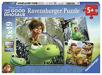Ravensburger Disney The Good Dinosaur 3x 49pc Jigsaw Puzzles