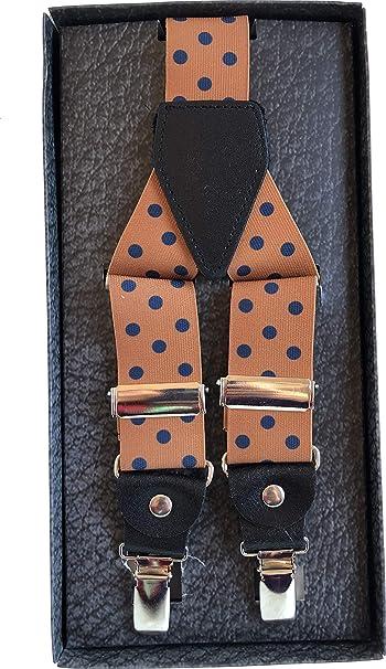 davvero comodo raccolto marchio popolare Bretelle uomo - Bretelle a fantasia - Bretelle blu - Accessori ...