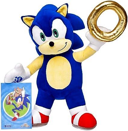 Amazon Com Build A Bear Workshop Online Exclusive Sonic The Hedgehog153 Set Toys Games