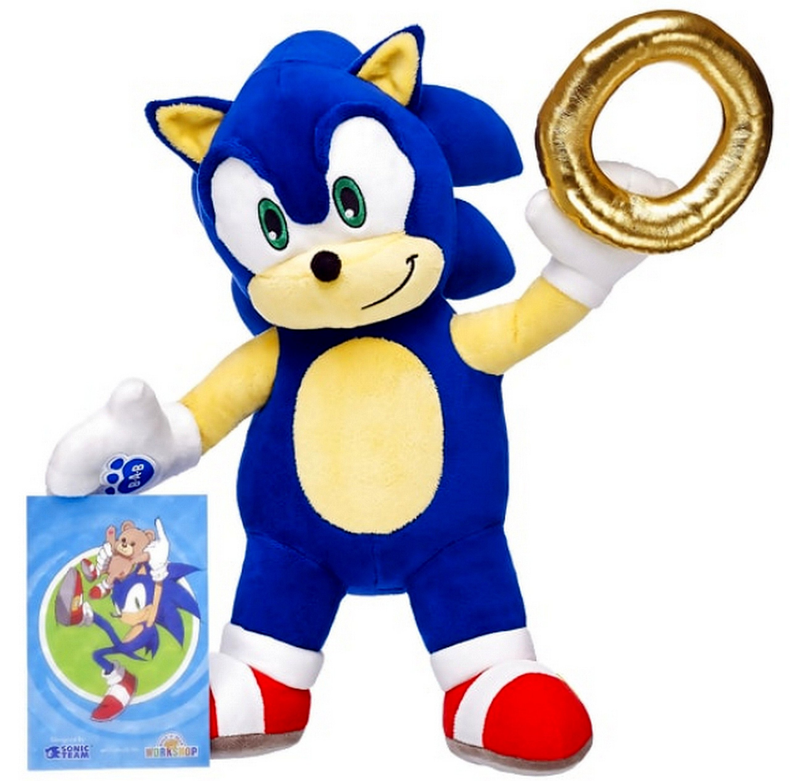 Build-a-Bear Workshop Online Exclusive Sonic the Hedgehog153; Set by Build A Bear