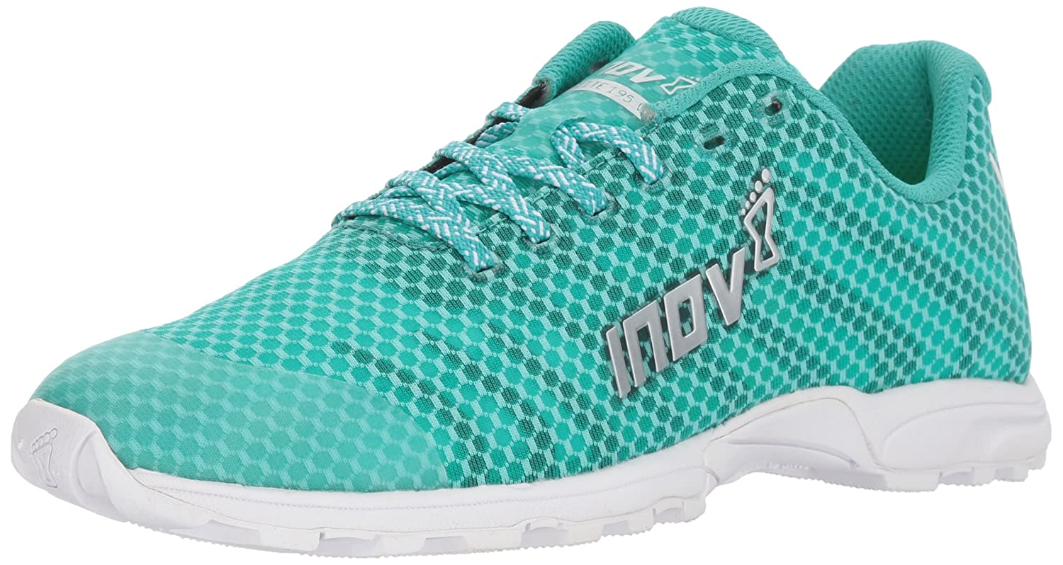 Inov-8 Women's F-Lite 195 V2 (W) Cross Trainer B073VRG3Z1 9 N US|Teal/White