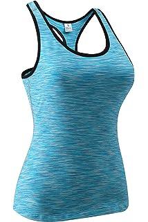 0ea3e516b951f Amazon.com: Miqieer Women's Compression Slimming Shirt Long Sleeve ...