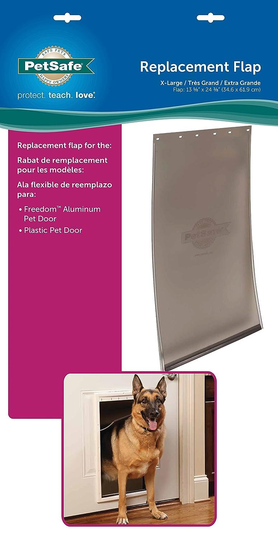 Amazon.com : PetSafe Dog and Cat Door Replacement Flap, X-Large ...