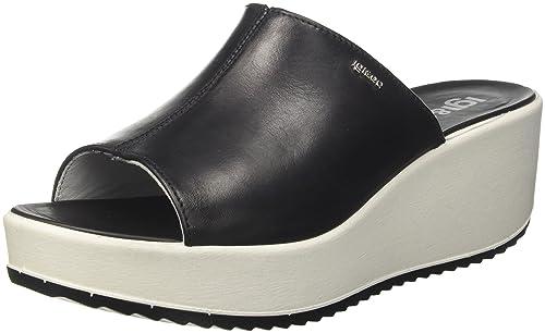 Kamik SCOOTERG - Zapatillas de Trekking y Senderismo de Cuero Niños^Niñas  Talla 43 IGI&CO Mujer Destalonada Negro Size: 38 EU 1jWCF
