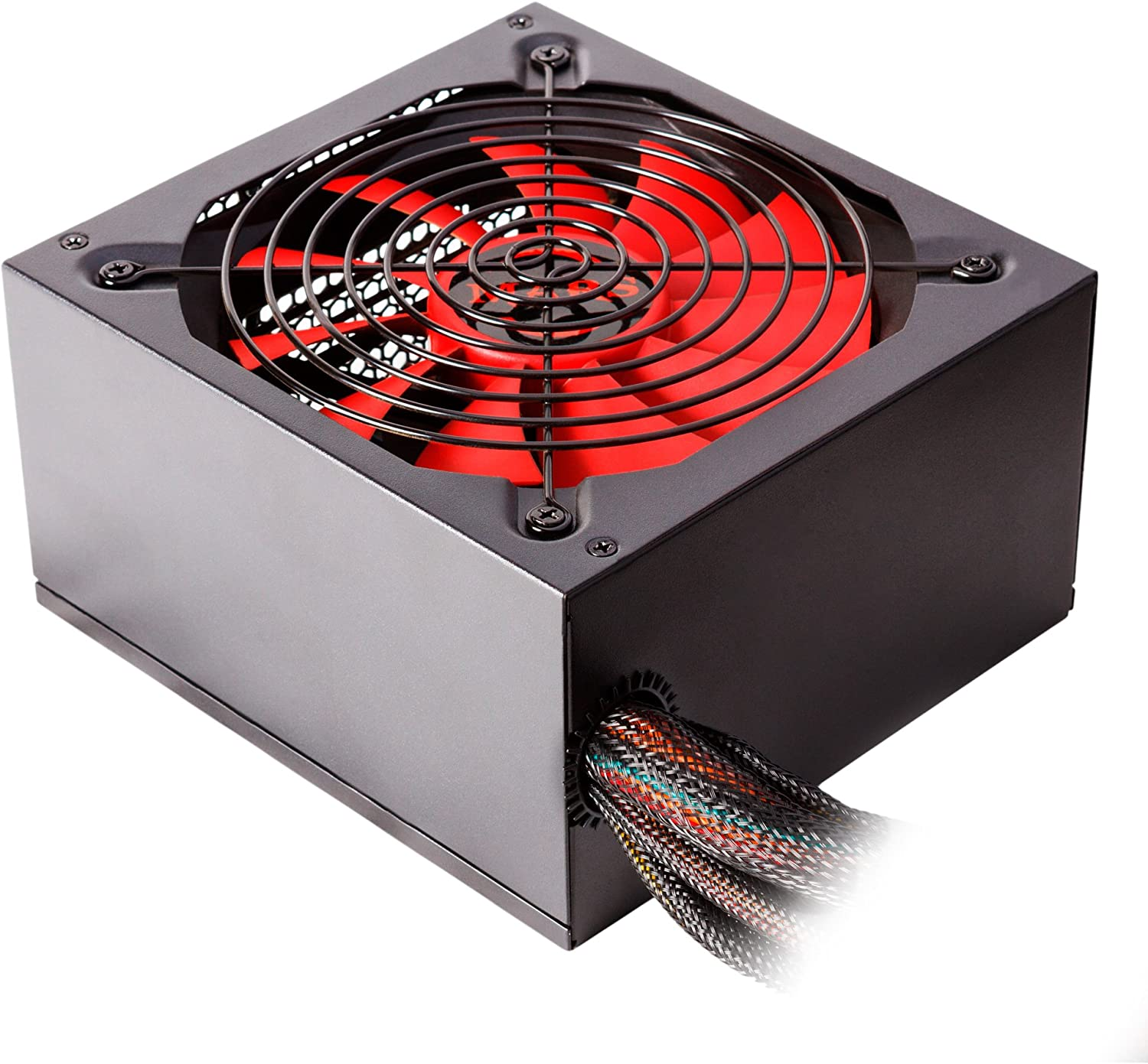 Mars MP1000 Gaming, fuente de PC 1000W, eficiencia 85+, ATX, PFC ...